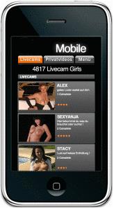 smartphone sexcams